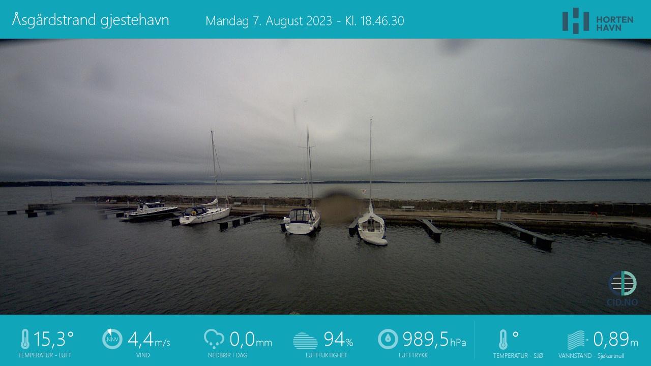 Åsgårdstrand - guest harbour