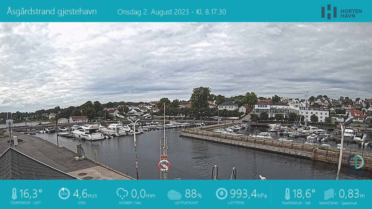 Åsgårdstrand - harbour