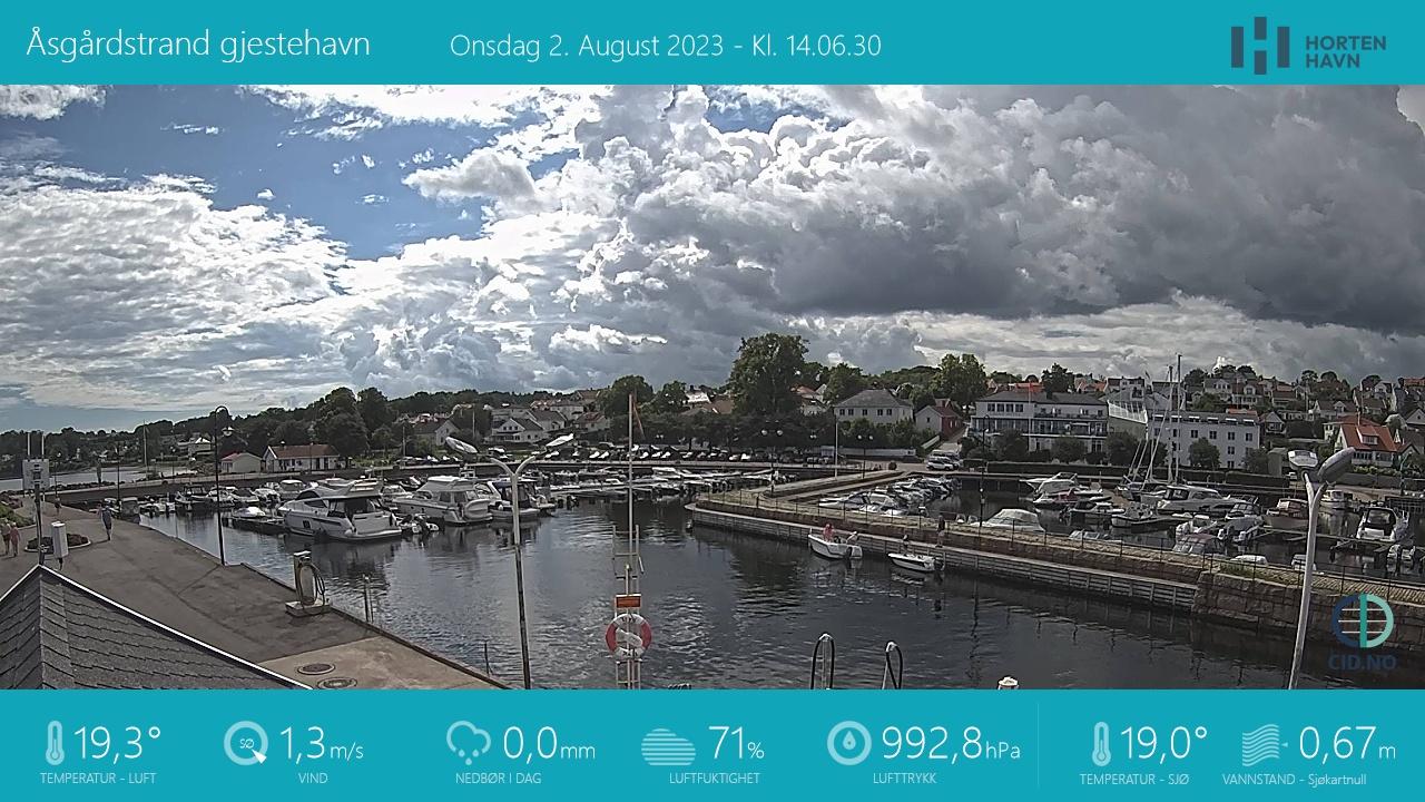 Webcam Åsgårdstrand, Horten, Vestfold, Norwegen