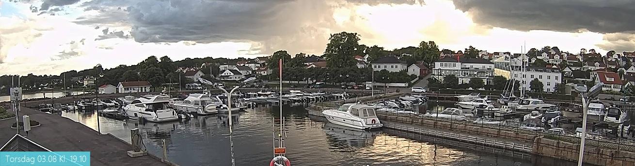Åsgårdstrand Havn - panorama